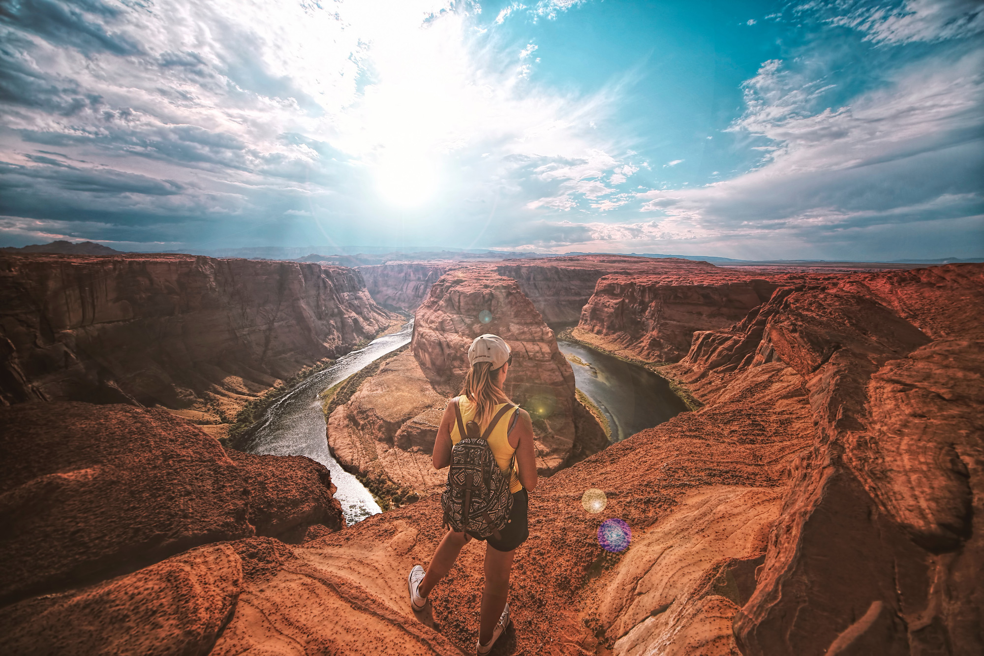 Adventure in Horseshoe Bend, United-States Photo by Drif Riadh